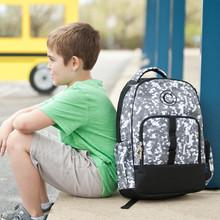 Kids Backpack- Kids Personalized -Monogrammed Boys Backpack -Techni-Cool Print