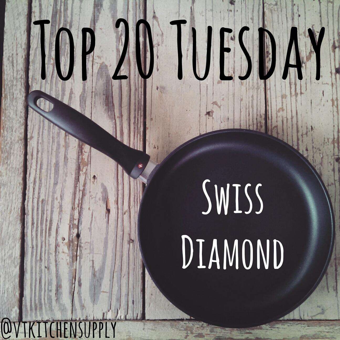 Top 20 Tuesday | Swiss Diamond Cookware