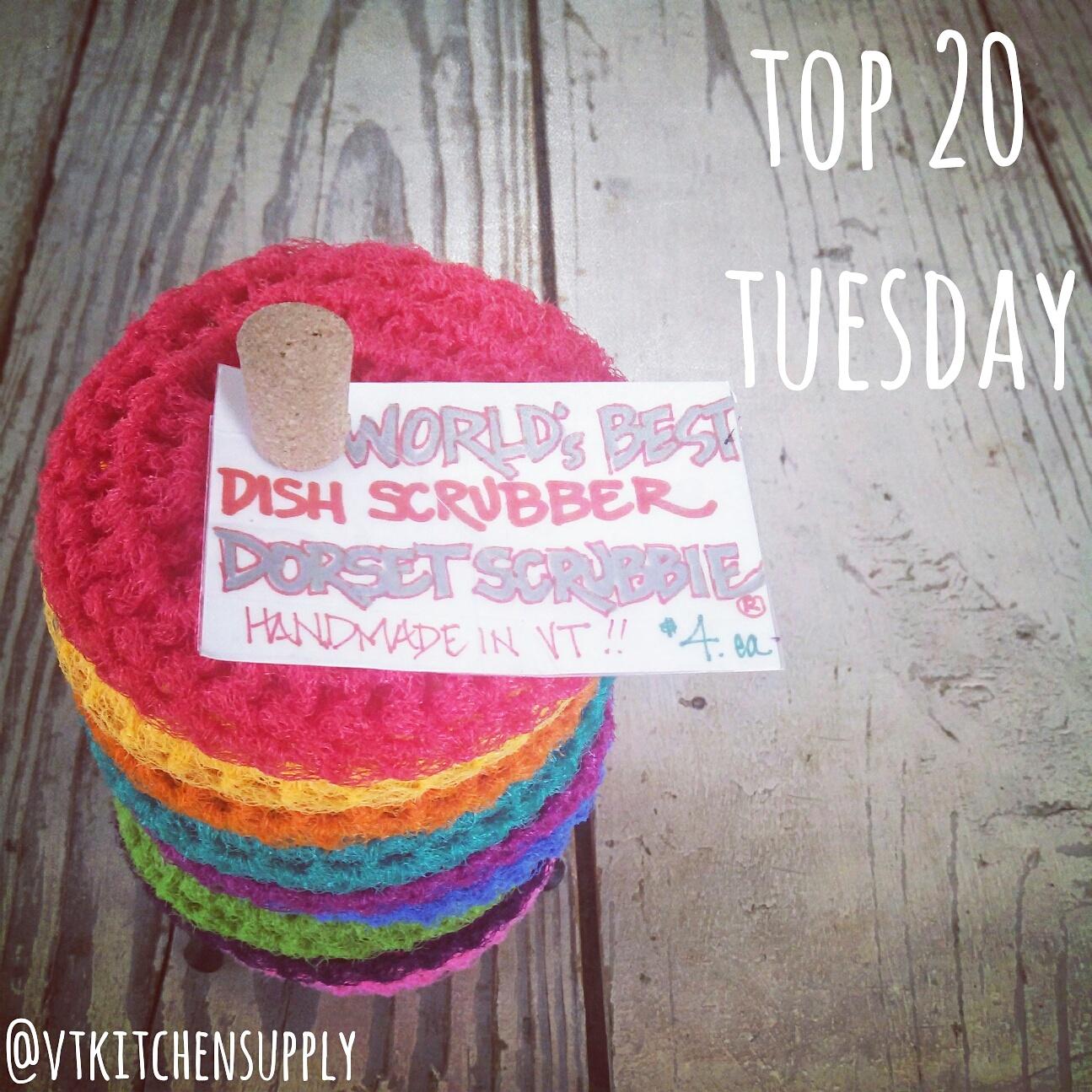 Top 20 Tuesday | Dorset Scrubbie