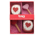 TAG Valentine Cupcake Decorating Kit