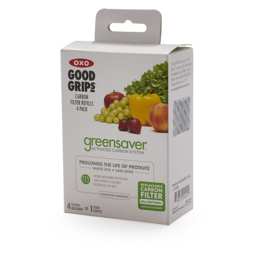 OXO GreenSaver Carbon Filter Refills | 4 Pack
