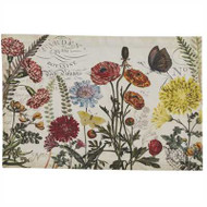 Williamsburg Garden Botanist Placemat