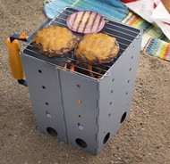 Collapsible Camping Grill & Chimney Starter