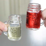 Mason Jar Shot Glasses - Set of 4