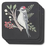 Bird Coasters - Set of 4