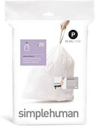 "simplehuman ""P"" Liners - 20 count"