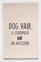 Funny Dish Towel - Dog Hair