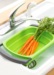 Collapsible Over-the-Sink Colander