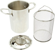 Cuisinart 3 Piece Stainless Steel Asparagus Pot
