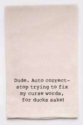 Funny Dish Towel - Autocorrect