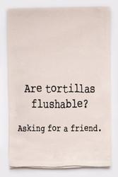 Funny Dish Towel - Tortillas