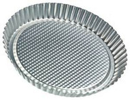 "Flan Pan - 9 1/2"" Tinned Steel"