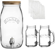 Kilner Kombucha Glass Drinks Making Set