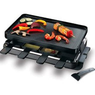 Swissmar 8 Person Raclette Party Grill Black