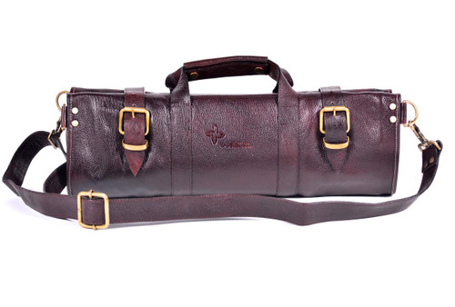 Boldric Leather Knife Bag