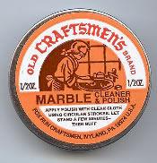 Old Craftsmen's Brand Marble Cleaner & Polish