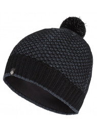 Ronhill Bobble Beanie Hat Black/Charcoal