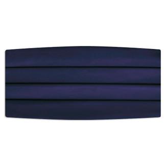 Satin Navy Cummerbund