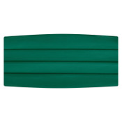 Satin Emerald Green Cummerbund