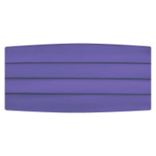 Satin Purple Cummerbund