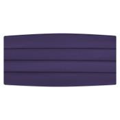 Satin Lapis Purple Cummerbund