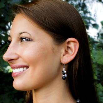 Allure Cluster Earrings