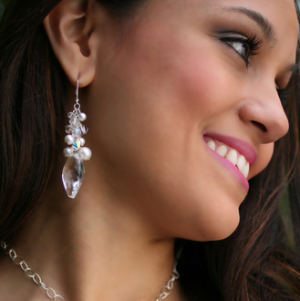 Vivienne Cluster Earrings