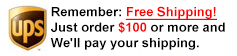 Free Shipping Syringes over $50.00