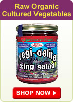 Raw Organic Cultured Vegetables - Shop Now