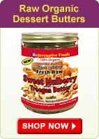 Raw Organic Dessert Butters - Shop Now