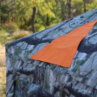 Blaze Orange Blind Panels