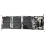 Folding 3-Panel Travel Solar Panel With Battery