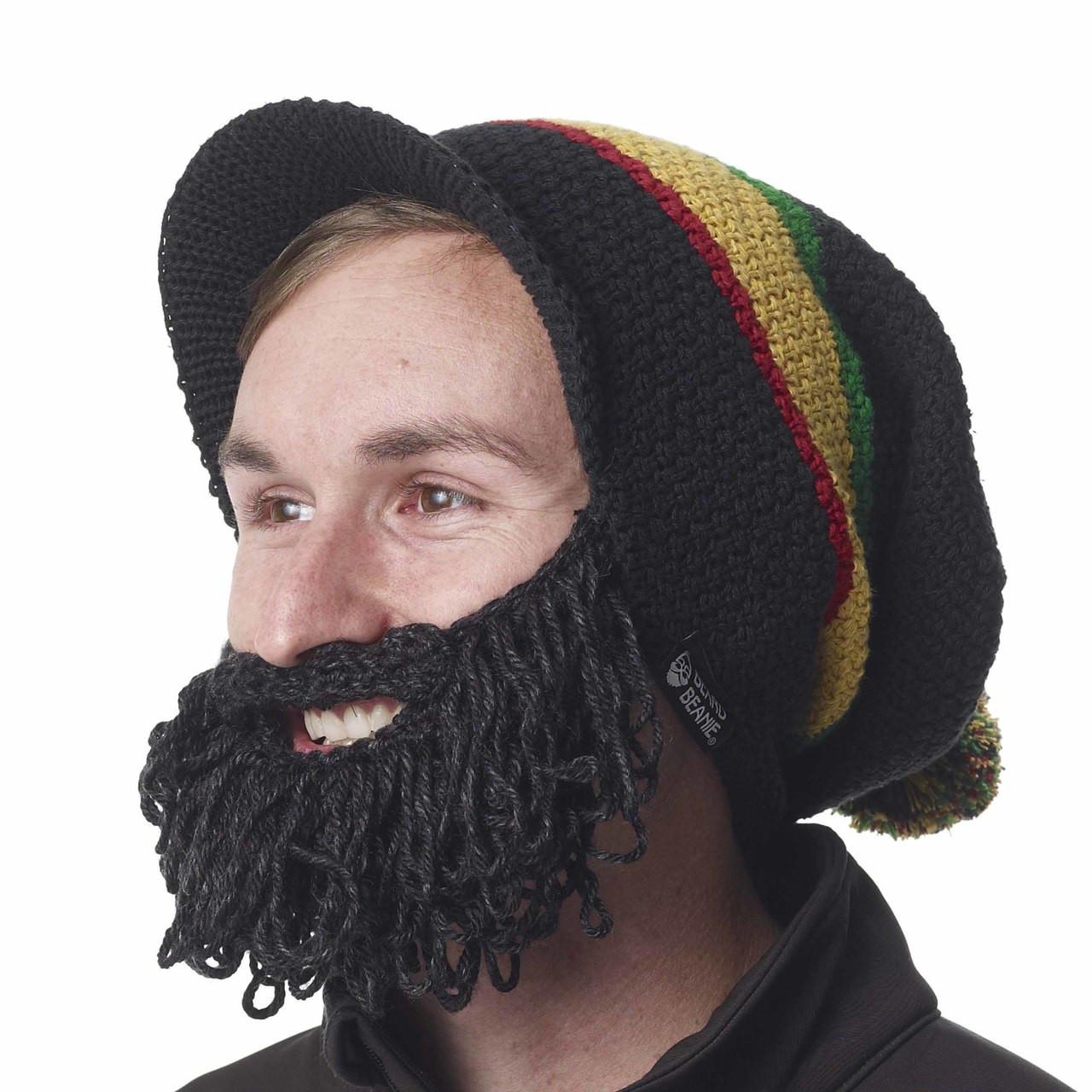4601d9f33b5 The Original Beard Beanie Rasta Style
