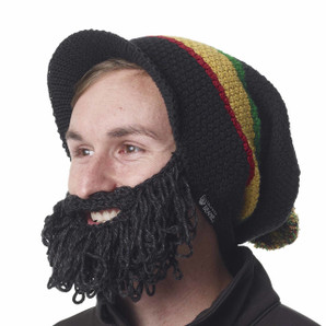 The Original Beard Beanie™ Rasta