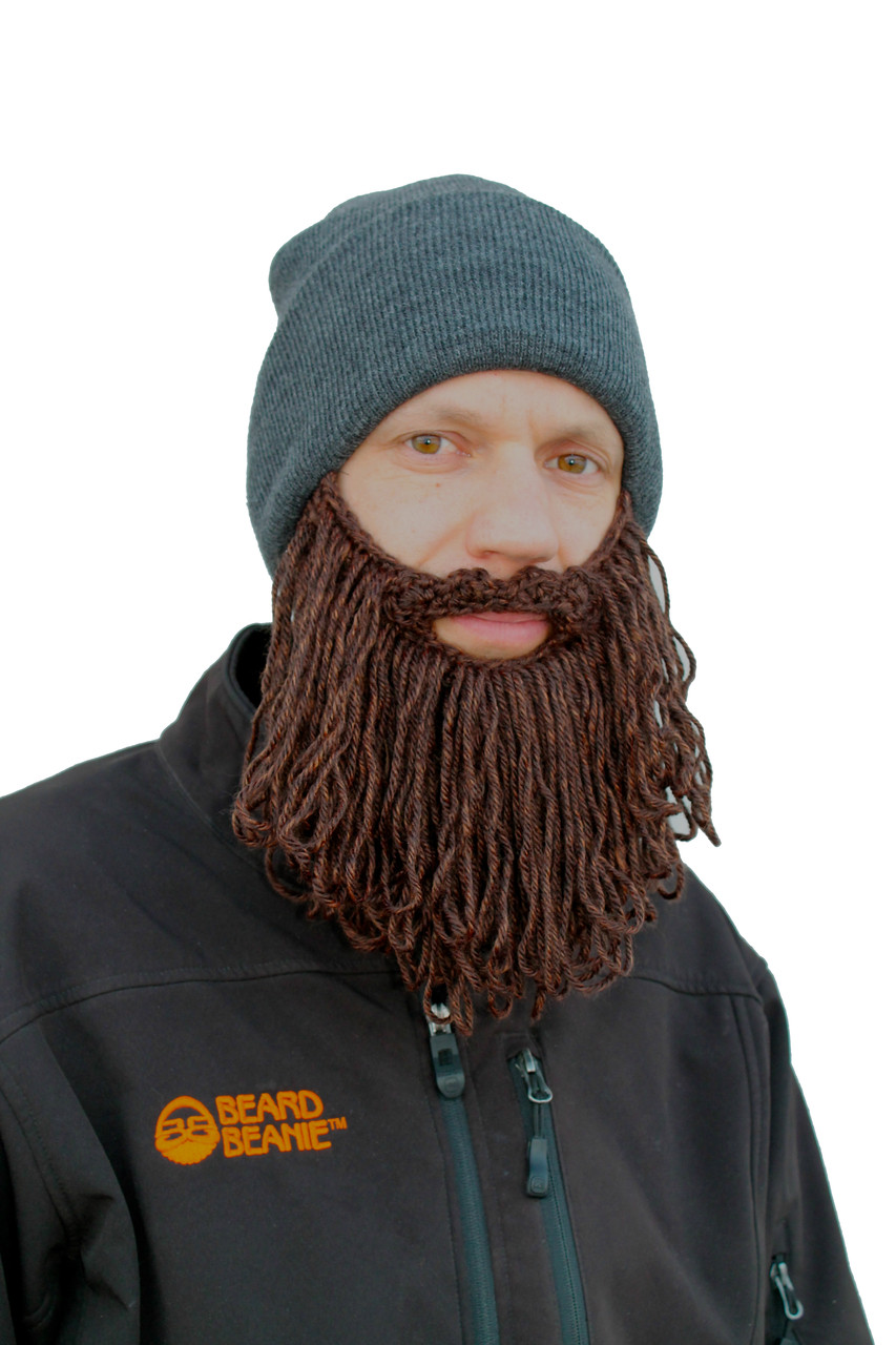 The Original Beard Beanie™ Lumberjack Charcoal Long - The Authentic ... 4c9cab83235