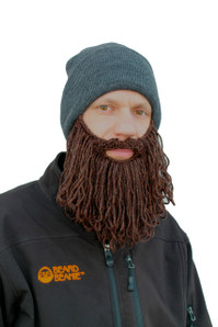 The Original Beard Beanie™ Lumberjack Charcoal Long