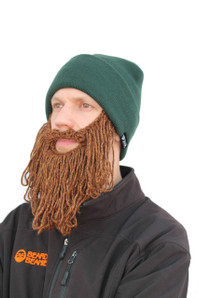 The Original Beard Beanie™ Lumberjack Forest Long Beard