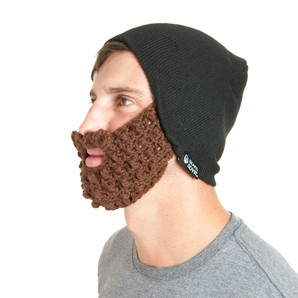 The Original Beard Beanie™  Eco2 Black