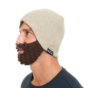 The Original Beard Beanie™ Linen Eco Friendly