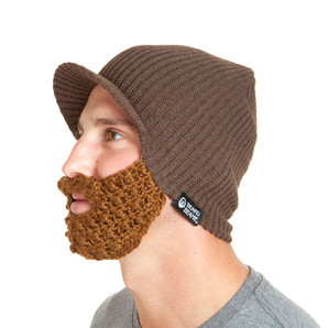 The Original Beard Beanie™ Snowbearder Espresso