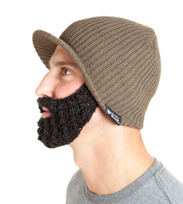 The Original Beard Beanie™ Snowbearder Earth
