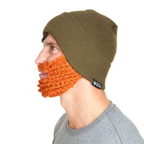 The Original Beard Beanie™ Lumberjack Olive