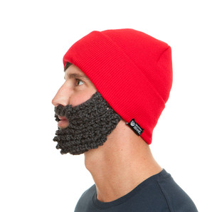 The Original Beard Beanie™ Lumberjack Red