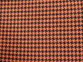 Houndstooth Black/Orange