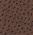 "Skintex Ostrich ""Mahogany"" Ostrich Faux Leather"