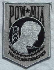 POW/MIA Veteran (Black and Grey)