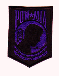 POW/MIA Veteran (Black and Purple)
