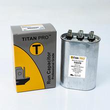 TITAN PRO RUN CAPACITOR 40+7.5 MFD 440/370 VOLT OVAL