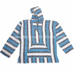 Mexican Baja Hoodies by Cozumel - Wholesale Lot of 10 Medium Hoodies - Assorted Colors