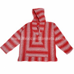 Mexican Baja Hoodies by Cozumel - Wholesale Lot of 10 Small Hoodies - Assorted Colors